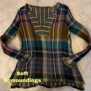 Soft Surroundings size PM petite medium top shirt